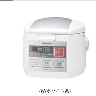 SHARP - シャープ 炊飯器 KS-H59-W ホワイト系