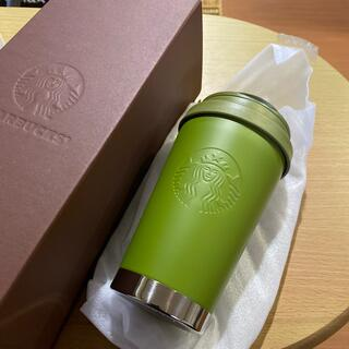 スターバックスコーヒー(Starbucks Coffee)のスターバックス ステンレスToGoロゴタンブラー マットカーキ 355ml(タンブラー)