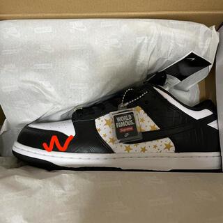 シュプリーム(Supreme)のSupreme Nike SB dunk low 27cm black 黒(スニーカー)