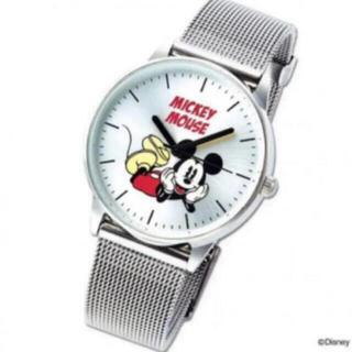 タカラジマシャ(宝島社)のSpring 11月付録 ミッキーマウス腕時計(腕時計)