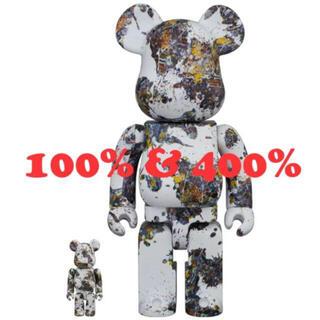 メディコムトイ(MEDICOM TOY)のBE@RBRICK Jackson Pollock 100% & 400%(その他)