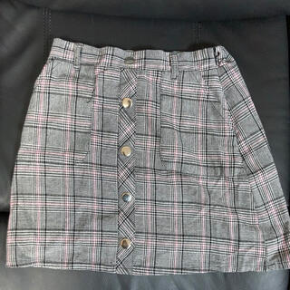 イングファースト(INGNI First)のイングファースト チェック柄スカート150(スカート)