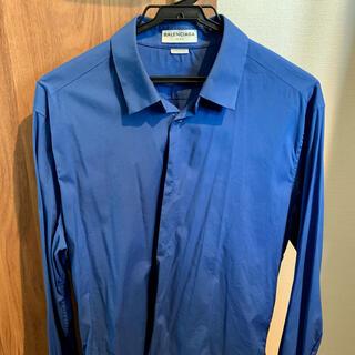 Balenciaga - BALENCIAGA レギュラーカラーストレッチドレスシャツ