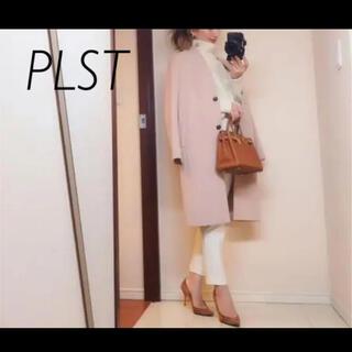 PLST - PLST プラステ ニジュウオリカラーレスコート
