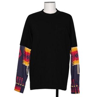 sacai - sacai men Archive Print Mix Long Sleeve