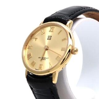 ジバンシィ(GIVENCHY)の【GIVENCHY】ジバンシー 時計 'オールゴールドモデル' ☆極美品☆(腕時計)