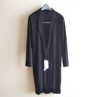 LAUTREAMONT - タグ付LAUTREAMONT 黒*羽織ロング40