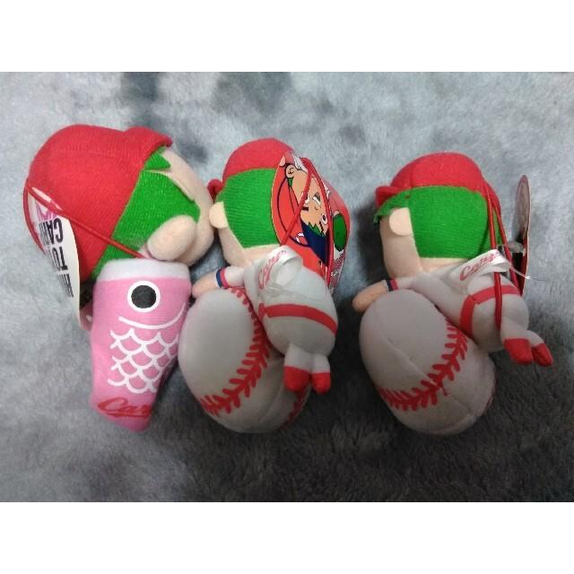 広島東洋カープ(ヒロシマトウヨウカープ)のカープ坊やマスコットぬいぐるみ スポーツ/アウトドアの野球(記念品/関連グッズ)の商品写真
