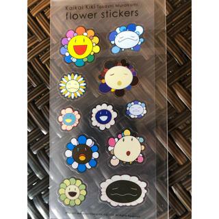 モマ(MOMA)の村上隆 Flower Stickers  !(キャラクターグッズ)