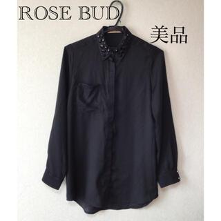 ローズバッド(ROSE BUD)の⭐︎美品⭐︎ROSE BUD ブラウス(シャツ/ブラウス(長袖/七分))