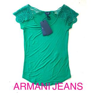 ARMANI JEANS - 新品 未使用 タグ付 アルマーニジーンズ ARMANI JEANS Tシャツ