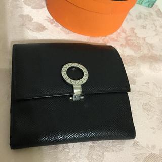 BVLGARI - 正規品 ブルガリ 折財布 黒