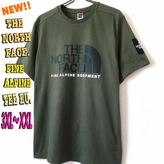 ザノースフェイス(THE NORTH FACE)のbtgwpさん専用 ノースフェイス ファイン アルパイン Tシャツ EU 3XL(Tシャツ/カットソー(半袖/袖なし))