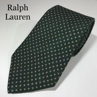 ラルフローレン(Ralph Lauren)の美品 ラルフローレン 日本製 高級シルク ネクタイ 小紋柄 田中栄光堂(ネクタイ)