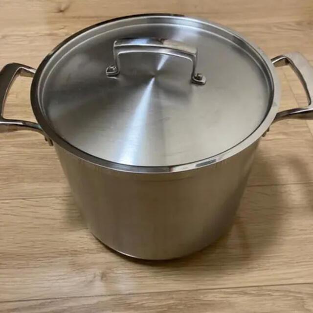 BALMUDA(バルミューダ)のBrowne Foodservice 5723910 ストックポット鍋 9.6L インテリア/住まい/日用品のキッチン/食器(鍋/フライパン)の商品写真