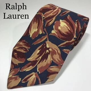 ラルフローレン(Ralph Lauren)のラルフローレン 菱屋 日本製 高級シルク ネクタイ 花柄(ネクタイ)