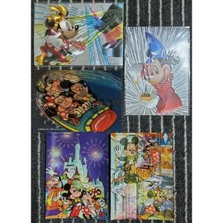 ディズニー(Disney)の【未使用】ディズニーランド ハガキ 5枚(写真/ポストカード)