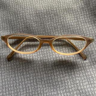 バーニーズニューヨーク(BARNEYS NEW YORK)のOLIVER PEOPLES(オリバーピープルズ)ピンク 度付きメガネ(サングラス/メガネ)