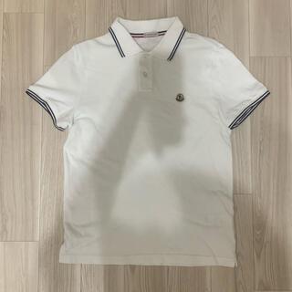 MONCLER - [新品同様]モンクレール  ポロシャツ ホワイト S