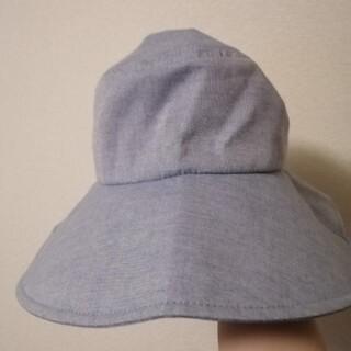 シマムラ(しまむら)のUPF50+ 薄いブルーの帽子(ハット)