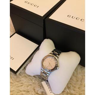 グッチ(Gucci)の【新品未使用】GUCCI グッチ 時計  メンズ シルバー (腕時計(アナログ))