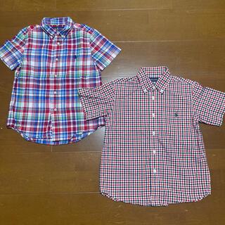 ラルフローレン(Ralph Lauren)のラルフローレン 半袖シャツ チェックシャツ 2枚(ブラウス)