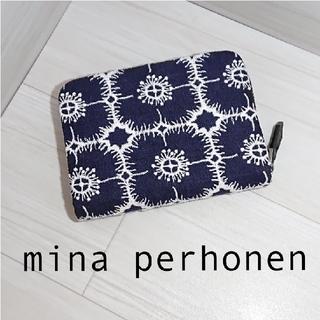 mina perhonen - ミナペルホネン ★ ハーフ財布 (コインケース) 新作 anemone