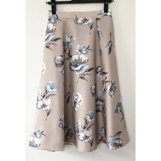 JUSGLITTY - 美品☆ジャスグリッティー レトロフラワープリントスカート