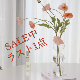 『ラスト1点』フラワーベース バブル花瓶 3連 韓国 北欧(花瓶)