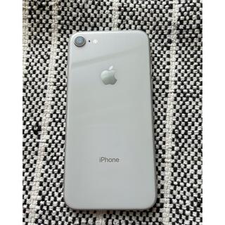 アイフォーン(iPhone)のiPhone 8 Silver 64 GB SIMフリー(スマートフォン本体)