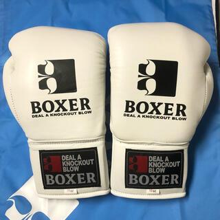 イサミ ボクシンググローブ ISAMI 白 10oz  BOXER(ボクシング)