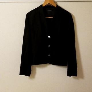 ロンハーマン(Ron Herman)のロンハーマン購入Mリネン100%黒 ジャケット スタイルアップ(テーラードジャケット)
