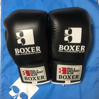 イサミ 専用 ボクシンググローブ ISAMI 黒 10oz BOXER  2組分(ボクシング)