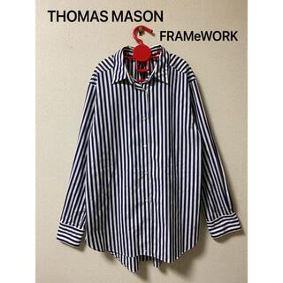 フレームワーク(FRAMeWORK)のTHOMAS MASON × FRAMeWORK  シャツ (シャツ/ブラウス(長袖/七分))