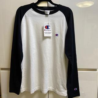 Champion - 新品未使用☆チャンピオン白黒ロングTシャツMサイズ
