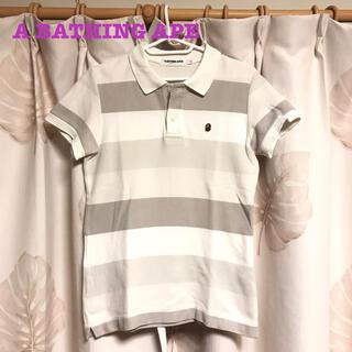 アベイシングエイプ(A BATHING APE)のアベイシングエイプ ポロシャツ レディース XS(ポロシャツ)