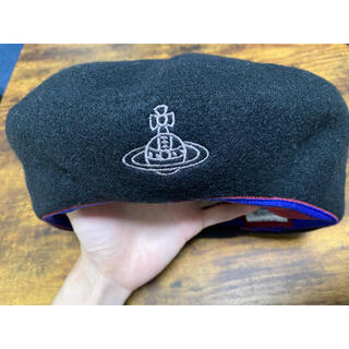ヴィヴィアンウエストウッド(Vivienne Westwood)のヴィヴィアン ウエストウッドviviennewestwoodベレー帽ウール(ハンチング/ベレー帽)