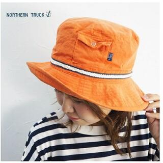 ノーザントラック(NORTHERN TRUCK)の*新品*NORTHERN TRUCK ノーザントラック ポケット付きハット 帽子(ハット)