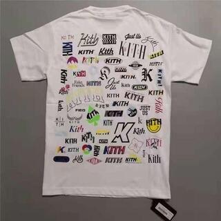 チープマンデー(CHEAP MONDAY)のKITH NOVEL TEE L 白(Tシャツ/カットソー(半袖/袖なし))