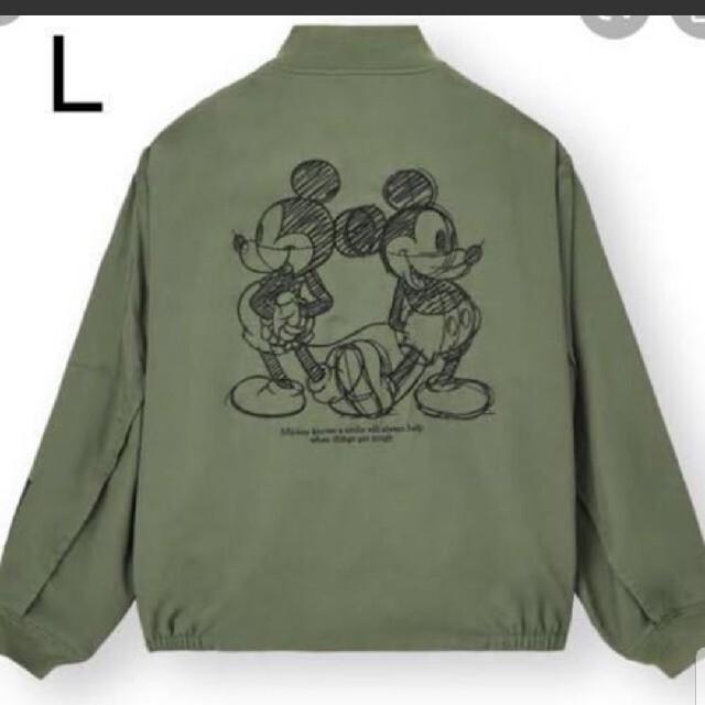 UNDERCOVER(アンダーカバー)のアンダーカバー gu ジップアップブルゾン カーキ メンズのジャケット/アウター(ブルゾン)の商品写真