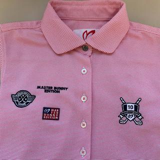 パーリーゲイツ(PEARLY GATES)の◆マスターバニー PEARLY GATES ゴルフウエア ポロシャツ 半袖  0(Tシャツ(半袖/袖なし))