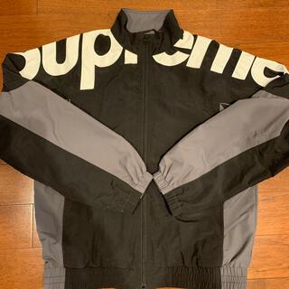 Supreme -  supreme shoulder logo トラックジャケット mサイズ