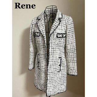 ルネ(René)のRene ルネ ツイードコート スプリング コート 36(スプリングコート)