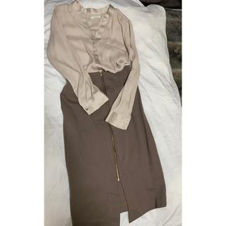 ラウンジドレス(Loungedress)のlaungedress  膝丈スカート(ひざ丈スカート)