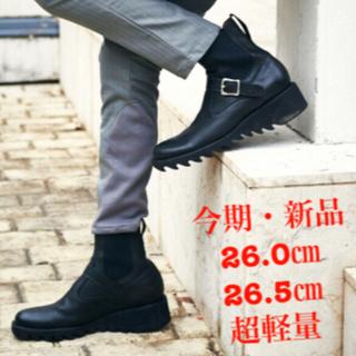 glamb - 今期・新品/グラム glamb/グランジ系 レザーブーツ/26㎝ 26.5㎝/②