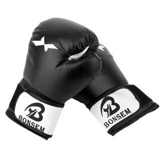 47 ボクシング グローブ キック 総合 格闘技 黒(ボクシング)