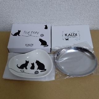 カルディ(KALDI)の*カルディ* 猫の日バッグ ティートレイ(日用品/生活雑貨)