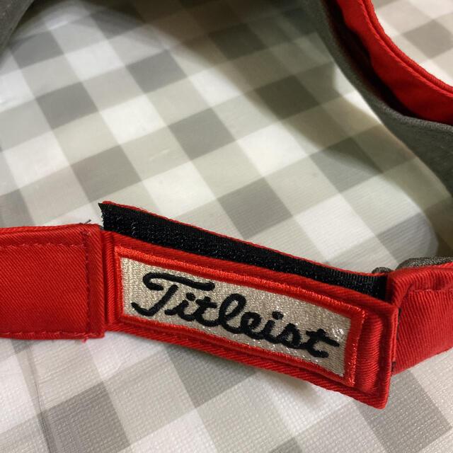 Titleist(タイトリスト)の【新品】 タイトリスト PRO V1  サンバイザー チケットのスポーツ(ゴルフ)の商品写真