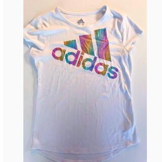 アディダス(adidas)のアメリカ輸入 adidas レインボーロゴ Tシャツ トップス(Tシャツ/カットソー)