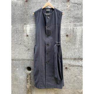 マルタンマルジェラ(Maison Martin Margiela)のKHOKI 20SS Electic Vest ロングベスト ジレ コッキ(ベスト)